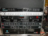 Live Sound Studio FOH Rack including Allen & Heath MixWizard3 16:2 mixing board